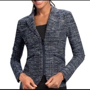 CABI STYLE 723 jacket blazer zipper 10